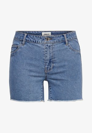 ONLSUN - Denim shorts - light blue denim