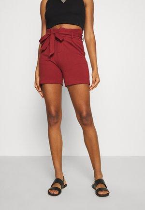ONLPOPTRASH EASY  - Shorts - russet brown