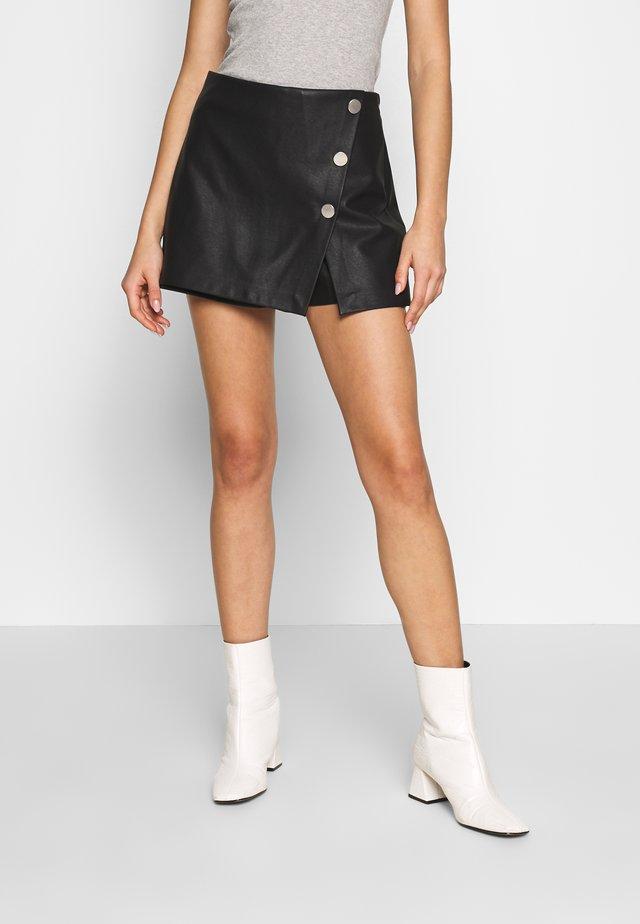 ONLLIVA - Minifalda - black