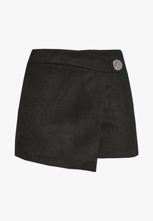 ONLBAILEY-ALINA FAUX SUEDE SKORTS  - Shorts - black