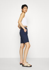 ONLY - ONLPARIS LONG BELT - Short - navy blazer - 3