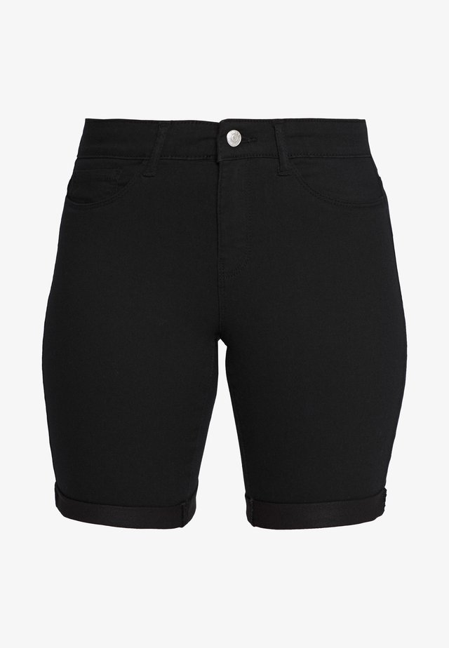 ONLSUN ANNE - Shorts vaqueros - black