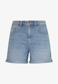 ONLY - ONLPHINE LIFE - Denim shorts - light blue denim