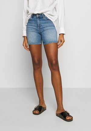 ONLBLUSH MID  - Denim shorts - light blue denim