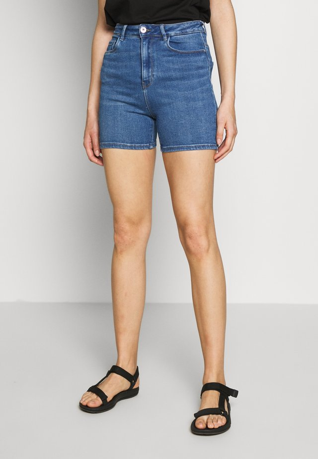 ONLMILA - Shorts vaqueros - medium blue denim
