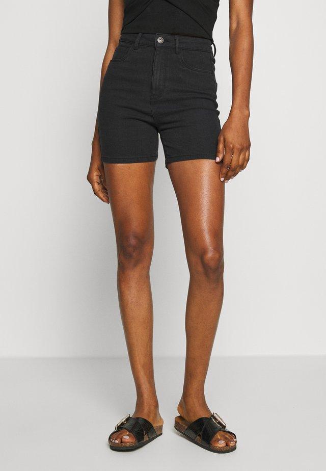 ONLMILA - Shorts vaqueros - black