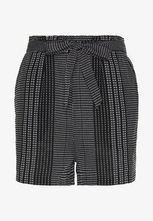 ONLNEW ATHENA - Shorts - black/white