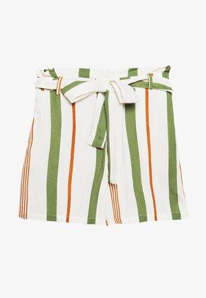 ONLSUMMER - Shorts - oyster gray/rust/green
