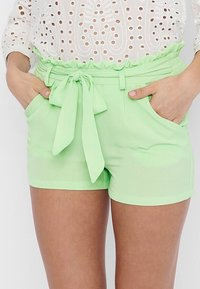 ONLY - PAPERBAG - Shorts - pastel green - 3