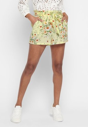 PAPERBAG - Shorts - pale lime yellow