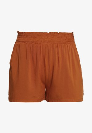 ONLNOVA LIFE SMOCK SHORTS SOLID - Shorts - arabian spice