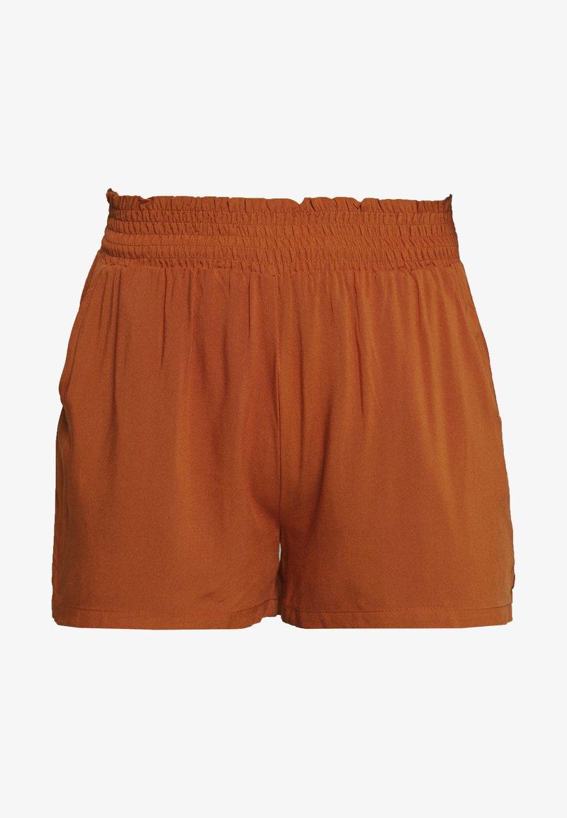 ONLY - ONLNOVA LIFE SMOCK SHORTS SOLID - Shorts - arabian spice