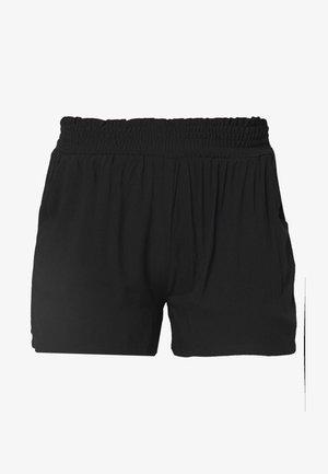 ONLNOVA LIFE SMOCK SHORTS SOLID - Shorts - black