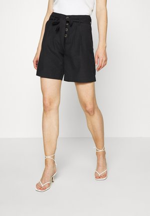 SHORTS GÜRTEL - Shorts - black