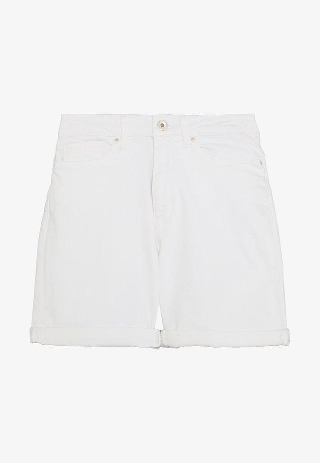 ONLPAOLA - Shorts di jeans - white
