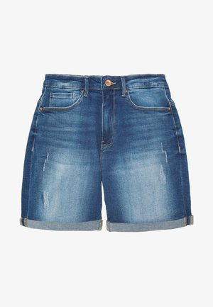 ONLPAOLA - Denim shorts - medium blue denim