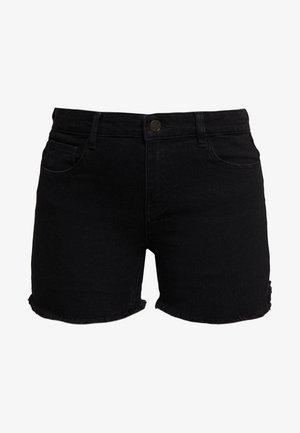 ONLSUN REG  - Denim shorts - black
