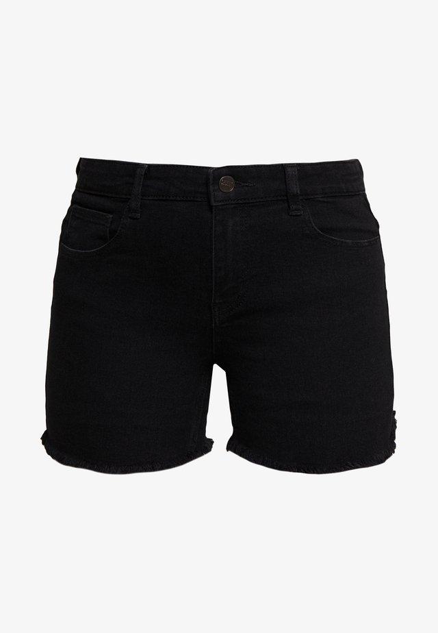 ONLSUN REG  - Shorts di jeans - black