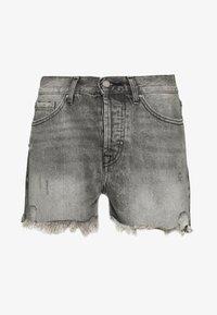 ONLY - ONLFINE LIFE  - Denim shorts - grey denim - 0
