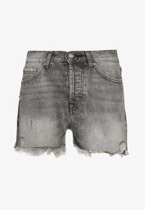ONLFINE LIFE  - Shorts vaqueros - grey denim
