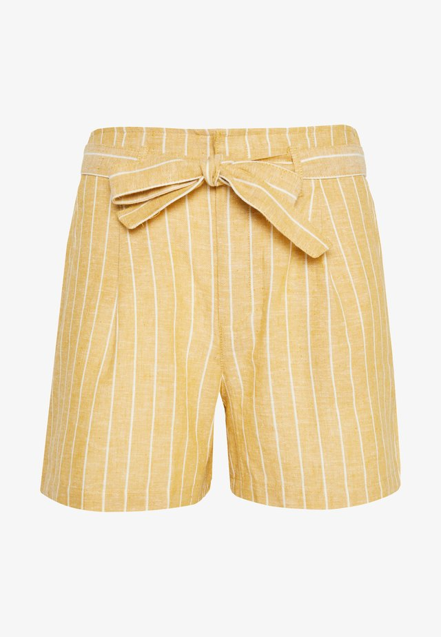 ONLPALOMA CANYON NEW LIFE - Shorts - gold/white