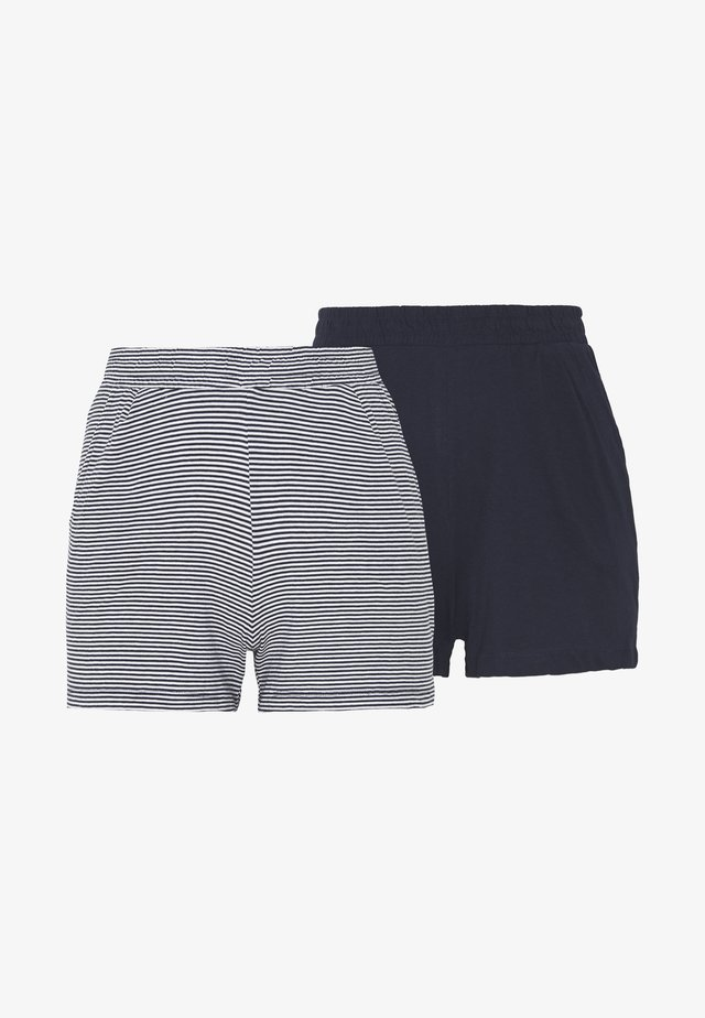 ONLMAY LIFE STRIPE 2PACK  - Shorts - night sky