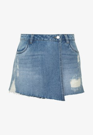 ONLTEXAS LIFE SKORT BJ15031 - Shorts di jeans - medium blue denim