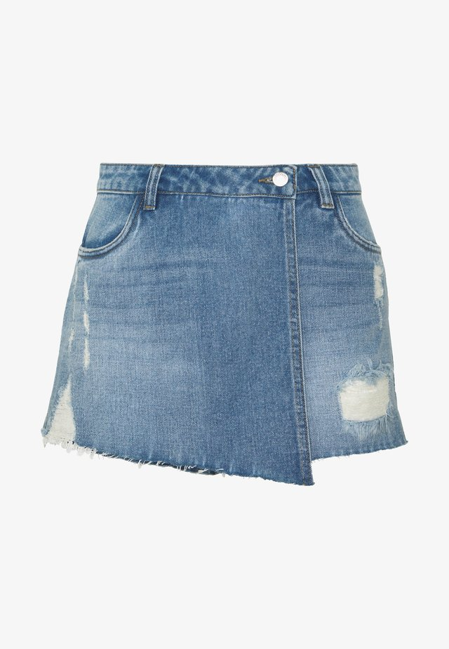 ONLTEXAS LIFE SKORT BJ15031 - Shorts vaqueros - medium blue denim