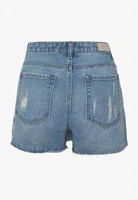 ONLY - ONLTEXAS LIFE SKORT BJ15031 - Jeansshort - medium blue denim - 1