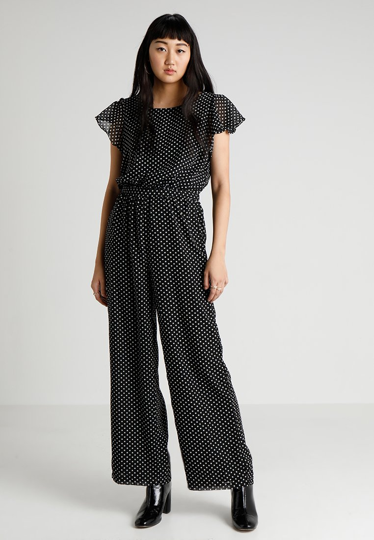 ONLY - ONLFPAIGE LIFE - Jumpsuit - black/white