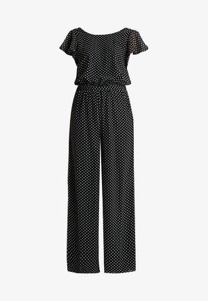 ONLFPAIGE LIFE - Jumpsuit - black/white