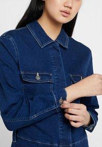 ONLY - ONLFEXK FOOL BOILER SUIT - Jumpsuit - medium blue denim - 4
