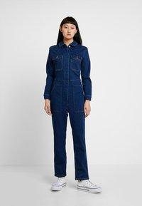 ONLY - ONLFEXK FOOL BOILER SUIT - Jumpsuit - medium blue denim - 0