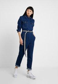 ONLY - ONLFEXK FOOL BOILER SUIT - Jumpsuit - medium blue denim - 1