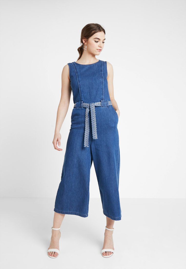 ONLY - ONLMARWIN CROPPED - Haalari - dark blue denim