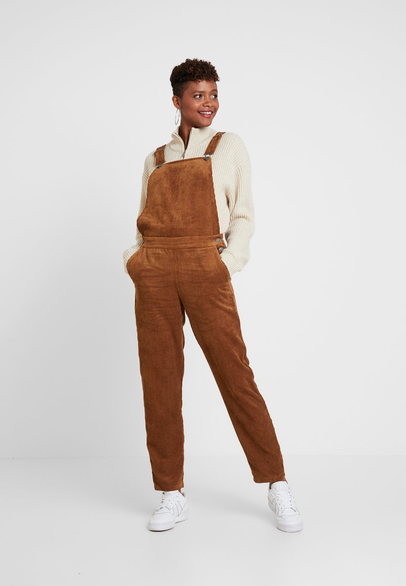 ONLY - ONLTOUCH UP OVERALL - Dungarees - toasted coconut