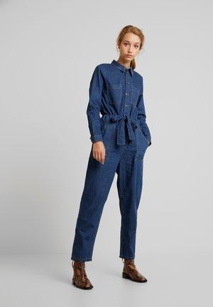 ONLJAYLA UTILIT BELT - Jumpsuit - dark blue denim