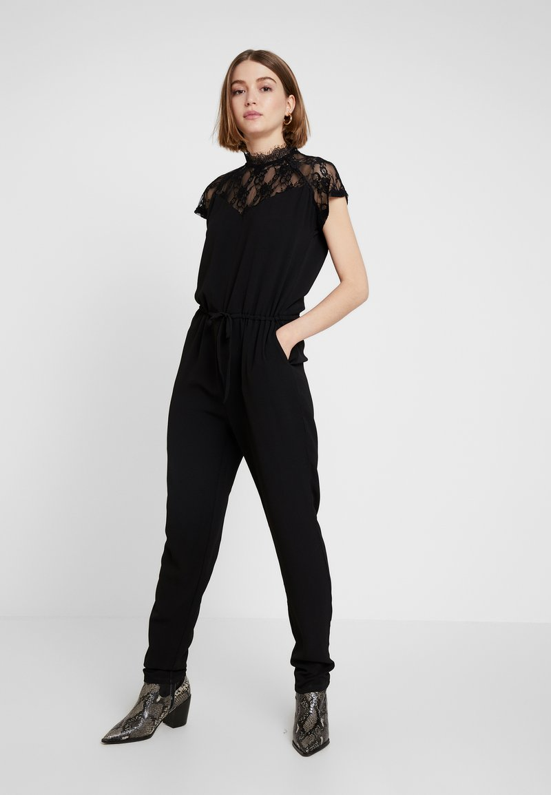 ONLY - ONLMILA LUX SOLID - Jumpsuit - black