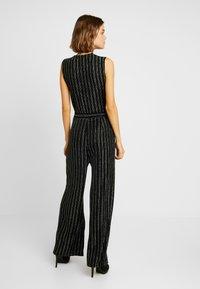 ONLY - ONLJODIE SHINE - Jumpsuit - black/silver - 2
