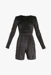 ONLY - ONLLOVABLE GLITTER - Tuta jumpsuit - black - 4