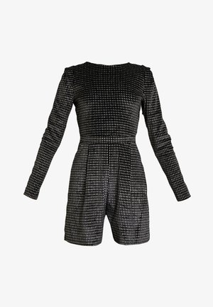 ONLLOVABLE GLITTER - Jumpsuit - black