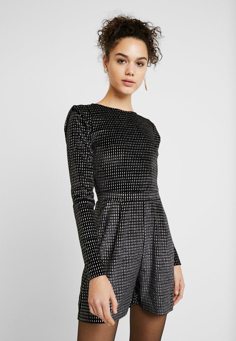 ONLY - ONLLOVABLE GLITTER - Tuta jumpsuit - black