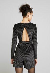ONLY - ONLLOVABLE GLITTER - Tuta jumpsuit - black - 2