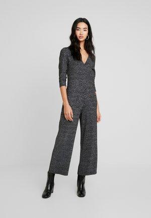 ONLFREJA 3/4 - Jumpsuit - black/silver