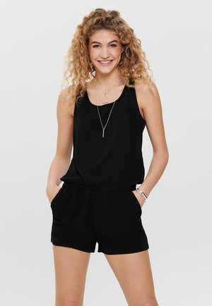 PLAYSUIT ÄRMELLOSER - Jumpsuit - black