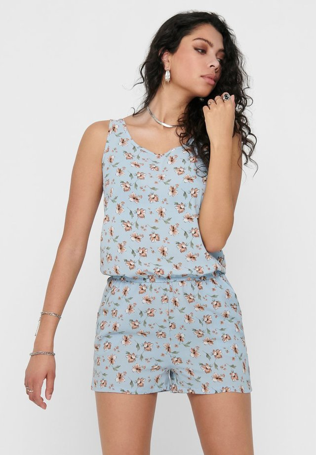 BEDRUCKTER - Jumpsuit - kentucky blue