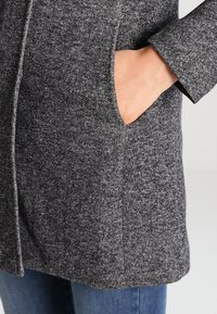 ONLY - Abrigo - dark grey melange - 3