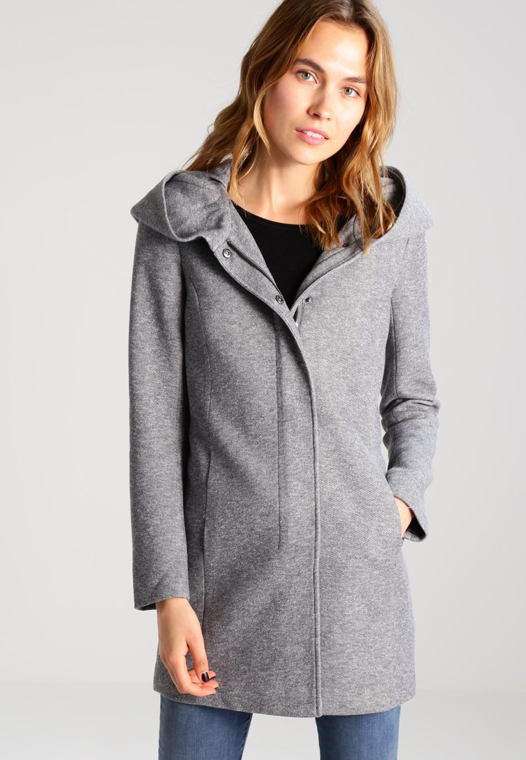 ONLY - Cappotto classico - light grey melange