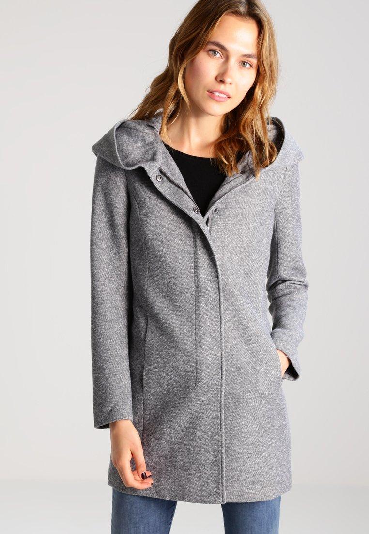 ONLY - ONLSEDONA - Short coat - light grey melange