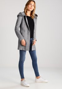 ONLY - Cappotto classico - light grey melange - 1